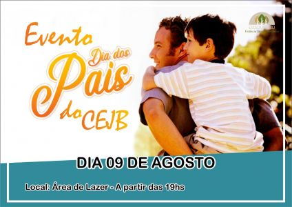 Evento dia dos Pais do CEJB